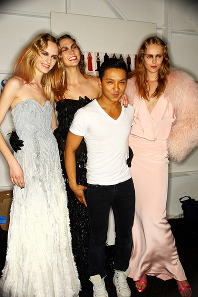 PRABAL GURUNG: Front & Backstage, Fall 2011