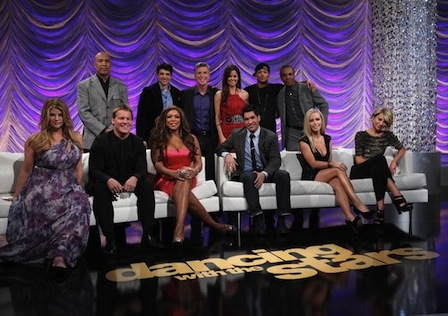 "Editor's Note: [Dancing With The Stars] The photo contains the Cast for this upcoming Season. It includes ""Wendy Williams"" and ""Kirstie Alley"". You know, some people really need to know their limitations for TV. Now I don't know who these women's Dance Partners are, but, my heart goes out to them. Though I do like Miss Wendy, it's still  gonna have to be pretty tough draggin' this one across the stage. And that's for Kirstie Alley? After it's all said and done, the poor Guy will definitely feel like he's moving furniture all across the globe. Let's face it, these two heifers are not ""ballerinas"". I mean, wasn't that Bristol Palin broad bad enough. Or wasn't she? These fellas will definitely need a vacation after this crusade. Good Luck!  Interview with Shows Designer, Randall Christensen:  With the season 12 premiere of Dancing with the Stars just weeks away, we caught up with the king of fabulously kitschy stage ensembles, Emmy winning-costume designer Randall Christensen, to dish on everything from dressing to accommodate curves to knowing your limits on showing skin (yes, he has some!). Read the full interview, after the jump. Randall is in New York this week for the Wilhelmina 40+ Model Search (he'll serve as a wardrobe advisor and a judge in the final event--if you're fabulous and over 40, hit the open casting call this weekend in NYC, 3/12 from 10am to 3pm at Wilhelmina, 300 Park Avenue South, 2nd floor; or find out how to enter online), and we took the opportunity to chat him up about all things DWTS and looking and feeling confident, no matter your age. Here's what he had to say:  Read More"