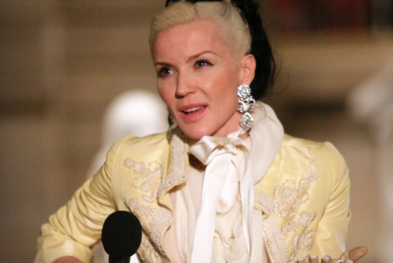 "Daphne Guinness calls buying all of late fashion editor Isabella Blow's wardrobe to halt its auction ""probably the maddest decision ever."" Speaking late last week to Platinum and Centurion American Express cardholders at an exclusive tour of the Met's new ""Savage Beauty"" exhibit — showcasing the work of her and Blow's friend Alexander McQueen — she explained      I thought what's going to happen is [the piecesare] going to be lost. She had an incredible eye and she truly loved her pieces, they're like a diary. I didn't want to buy them and wear them, I wanted to buy them and keep them because I think it's very interesting for students and people who are interested in fashion to see.  Read more about this, CLICK"