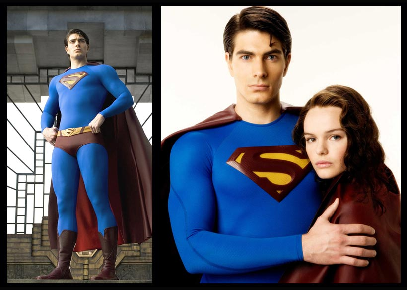You've got to love a good movie leak. Once again, the Internet is buzzing about new photos from the set of Man of Steel, the Superman movie directed by Zack Snyder (Sucker Punch, Watchmen) and starring Henry Cavill. Everyone's got an opinion on the design, the material used, the colors. And naturally, folks are comparing the outfit to those worn by movie Supermen of the past.