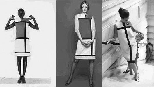 Mondrian clothes