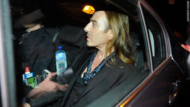 Flamboyant fashion designer John Galliano was found guilty Thursday on charges of making anti-Semitic comments against at least three people in a Paris cafe.The French court gave him a suspended fine of 6,000 euros ($8,415) but he was not sentenced to jail time. The plaintiffs were awarded one symbolic euro each. Aurelien Hamelle, Galliano's lawyer, told CNN he was not surprised by the verdict. He said the designer was happy it was all over and wants to put the whole episode behind him. Galliano was not present at the trial because he didn't want to face the media, his lawyer added. The designer could have faced up to six months in jail and a fine of 22,500 euros ($32,410), prosecutors said before the verdict. -- catch up on this latest HERE