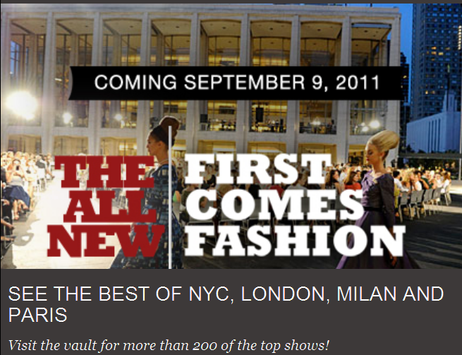LIVE Streaming Mercedes-Benz Fashion Week Shows from NYC LIncoln Center