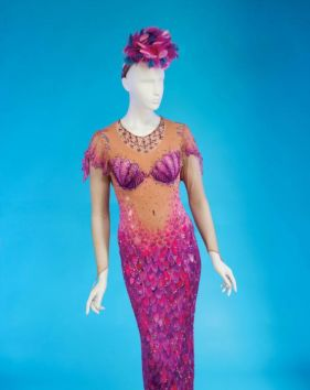 The Divine Miss M – Bette Midler – is auctioning off her personal collection of costumes for charity. The auction will feature some of Ms. Midler's most iconic and instantly recognizable looks, including her famous mermaid costume, stage costumes designed by Bob Mackie, designer dresses from Valentino, costumes from her films, spectacular stage sets, sketches, art, jewelry, and items from her personal collection. Highlights from the auction, being organised by Julien's Auctions in Beverly Hills, include he – Julien's Auctions/Splash NewsBette Midler is auctioning off her personal collection of costumes for charity. – - Read more HERE