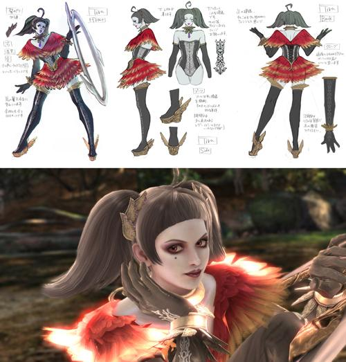 "Just before this year's Tokyo Game Show, Namco announced that in addition to their internal Project Soul development team, three external developers were helping create Soul Calibur V — CyberConnect2 on the story, and Creative Intelligence Arts/Forcewick Sound Design on the audio. And now they're adding one more to that list, with Bayonetta character designer Mari Shimazaki contributing costumes. Namco calls her a ""guest costume designer,"" keeping the terminology they use for ""guest characters"" like Ezio in SCV."
