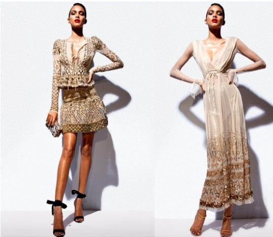 Tom Ford has finally unraveled his collection for the spring 2012 season. Get seduced by the multitude of outfits that combine elegance and sexiness in the much awaited collection that kept everyone on the edge in the last weeks.