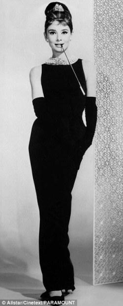 Audrey Hepburn Givenchy Breakfast at Tiffanys