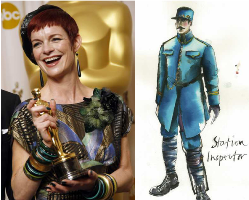 "This is Powell's 10th Oscar nomination. She has won the costume design award three times, including for Scorsese's Howard Hughes biopic,""The Aviator."" The opportunity to work again with the director, a frequent collaborator, was a major motivation for her to sign on to the lavish 3-D family movie, but so was its source material, the illustrated children's novel ""The Invention of Hugo Cabret."""