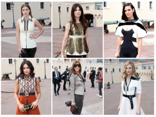 celebrities at Monaco
